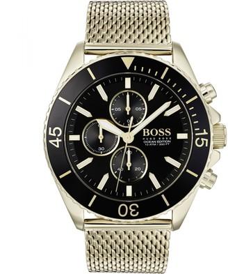 Boss Business BOSS HUGO BOSS Ocean Edition Watch Gold