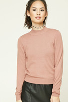 Forever 21 FOREVER 21+ Mock Neck Sweater