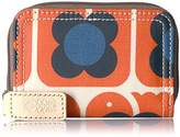Orla Kiely Love Birds Medium Zip Wallet Wallet