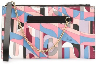 Emilio Pucci Sirens Song-print wallet