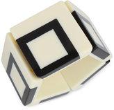 INC International Concepts IRIS X Square Stretch Bracelet, Only at Macy's