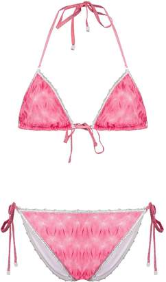 Missoni Mare embroidered detail bikini set