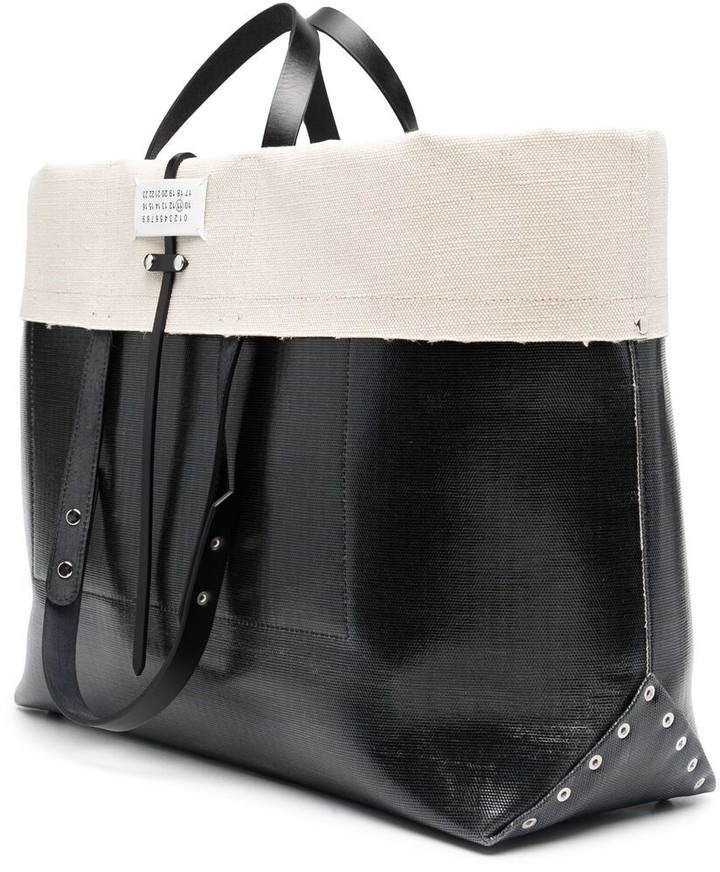 Thumbnail for your product : Maison Margiela Number Patch Tote Bag