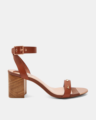 Ted Baker BIAH Studded bow detail sandals