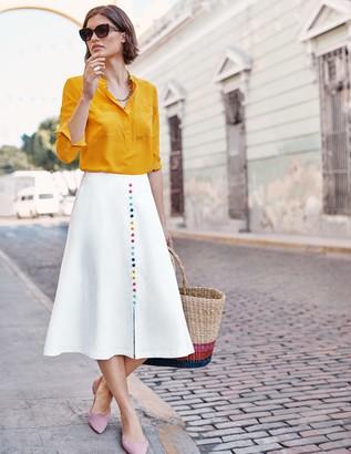 Cecilia Linen Skirt