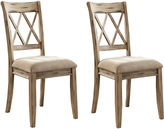 Signature Design by Ashley Mestler Set of 2 Dining Side Chairs