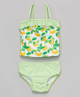 KensieGirl Green Lemon Tankini - Toddler & Girls