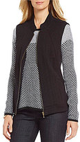 Westbound Petites Zip Front Quilt Vest