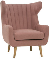 Dusty Rose Poppy Arm Chair