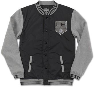 Red Jacket NHL Ember LA Kings Varsity Jacket