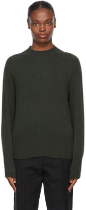 YMC Khaki Wool Bryter Turtleneck
