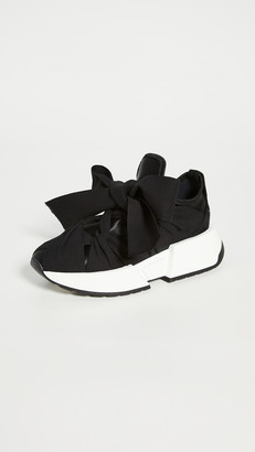 MM6 MAISON MARGIELA Ribbon Tied Sneakers