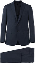 Caruso slim-cut suit - men - Cupro/Wool/Bemberg - 54