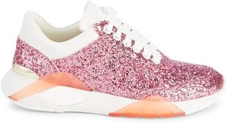 Kurt Geiger Iris Glitter Sneakers