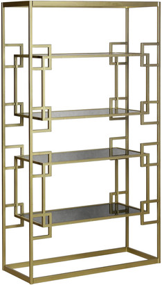 Lulu & Georgia Jezebel Bookcase, Gold