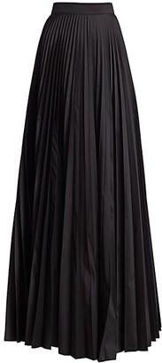 Teri Jon by Rickie Freeman Accordion Pleated Taffeta Skirt