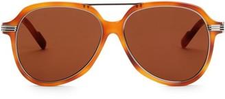 Cartier 57MM Round Sunglasses