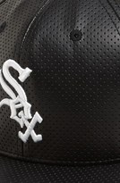 American Needle 'Chicago White Sox - Delirious' Faux Leather Snapback Baseball Cap