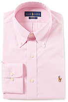 Polo Ralph Lauren Non-Iron Fitted Classic-Fit Button-Down Collar Oxford Dress Shirt