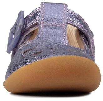 Clarks Roamer Star Toddler Shoe - Lilac