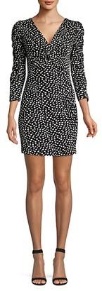 Rebecca Taylor Dotted Jersey Dress