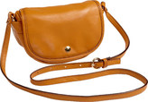 Clava Women's Page Leather Mini Crossbody