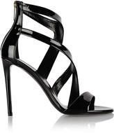Tamara Mellon Tiger patent-leather sandals