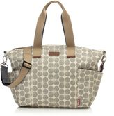 Babymel BabymelTM Evie Diaper Bag in Grey Floral Dot
