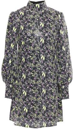Olivia Rubin Melissa Sequined Printed Georgette Mini Dress
