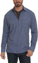 Robert Graham Classic Fit Auburn Shirt Jacket