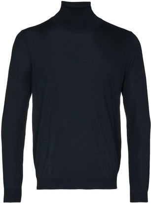 Laneus High Neck Knitted Jumper