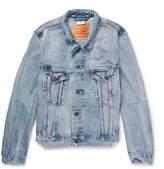 Vetements + Levi's Slim-Fit Panelled Denim Jacket