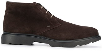 Hogan Lace-Up Boots