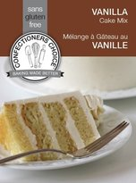 Confectioners Choice Gluten Free Vanilla Cake Mix - 1 lb
