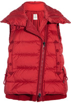 Moncler Laurie Quilted Shell Down Gilet - Red