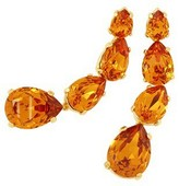 A-Z Collection Tangerine Dangle Earrings