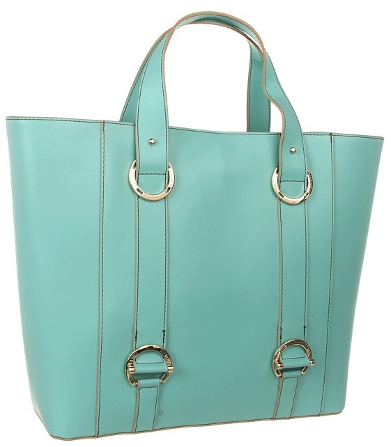 Ivanka Trump Alexis Double Shoulder (Teal) - Bags and Luggage