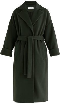 Paisie Maple Wool Blend Coat In Dark Green