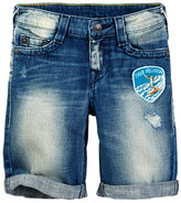 True Religion Ricky Roll Cuff Denim Shorts (Little Boys)