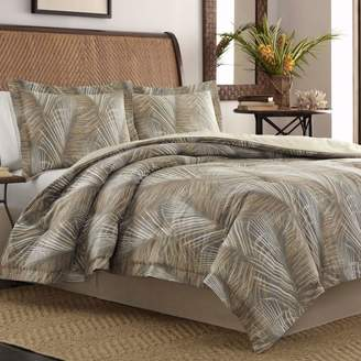 Tommy Bahama Raffia Palms Duvet Cover, King