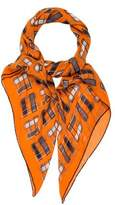 Hermes Printed Cashmere and Silk Shawl