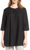 Eileen Fisher Women's A-Line Organic Linen Tunic