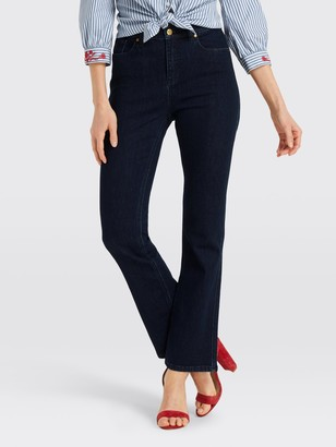 Draper James High Waisted Boot Cut Jean