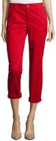Liz Claiborne Cropped Chino Pants