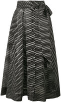 Lisa Marie Fernandez Selena polka dot skirt - women - Cotton - 2