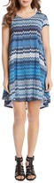 Karen Kane Maggie Abstract Print Dress
