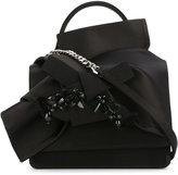 No.21 structured bow shoulder bag