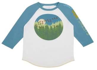 Logan Peek Forest Long Sleeve Tee (Toddler, Little Boys, & Big Boys)