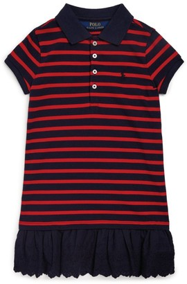 Ralph Lauren Kids Stripe Polo Dress (2-4 Years)