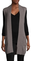 Qi Ribbed Cashmere Vest